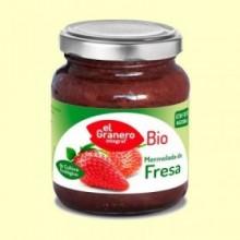 Mermelada de Fresa Bio - 330 g - El Granero