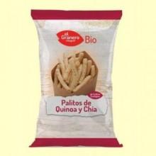 Palitos de Quinoa y Chía Bio - 75 g - El Granero