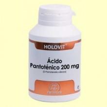Holovit Ácido Pantoténico 200 mg - 180 cápsulas - Equisalud