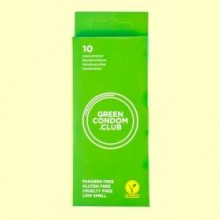 Green Condoms - Preservativos - 10 ud - Green Condom