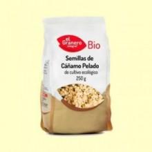 Semillas de Cáñamo Pelado Bio - 250 g - El Granero