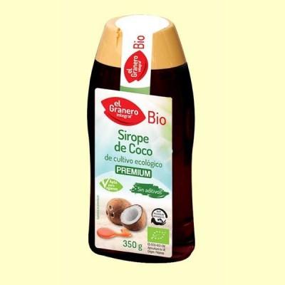 Sirope de Coco Bio - 350 g - El Granero
