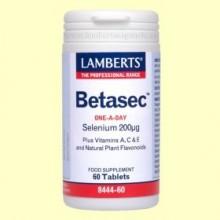 Betasec TM Antioxidante - 60 tabletas - Lamberts