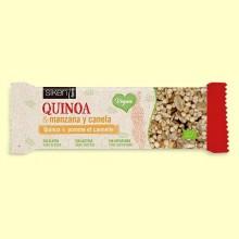 Barrita de Quinoa Manzana y Canela Bio - 1 barrita - Siken Form