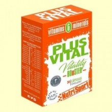 Plus Vital CN - NutriSport - 30 cápsulas - Polivitamínico