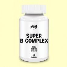 Super B-Complex - 90 cápsulas - PWD