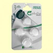 Filtro de partículas IR16 Eco Ducha - 4 filtros - Irisana
