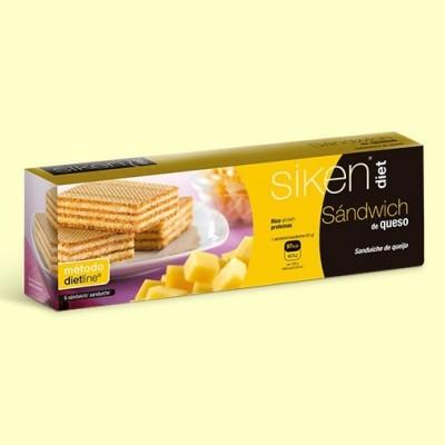 Sándwich de queso - 6 ud - Siken Diet