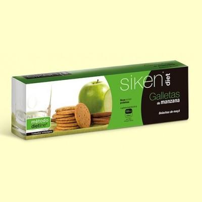 Galletas de manzana - Siken Diet - 15 ud - Método DietLine