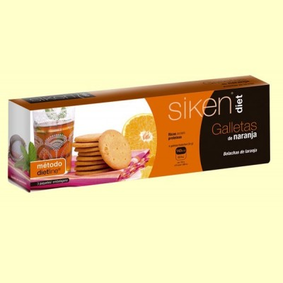 Galletas de naranja - SikenDiet - 15 ud - Método DietLine