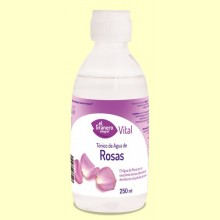 Agua de Rosas - Tónico Facial - 250 ml - El Granero