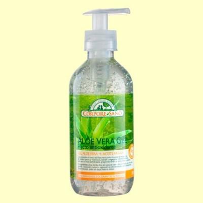 Aloe Vera y Argán Gel - 300 ml - Corpore Sano