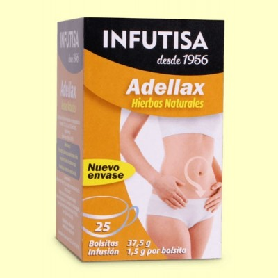 Adellax - Cassia Angustifolia - 25 bolsitas - Infutisa