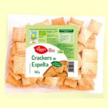 Crackers de Trigo Espelta con Sésamo Bio - 150 gramos - El Granero