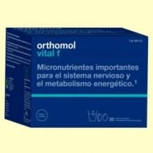 Orthomol Vital F - Granulado - 30 raciones - Laboratorio Cobas