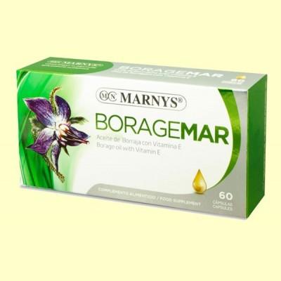 Boragemar Aceite de Borraja - 60 cápsulas - Marnys