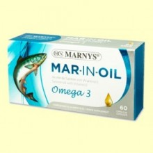 Mar-In-Oil Aceite de Salmon - Marnys - 60 cápsulas