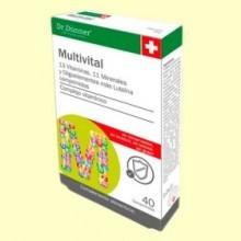 Multivital - 40 comprimidos - Dr. Dünner