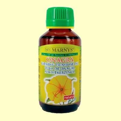 Aceite Alimentario de Onagra - 125 ml - Marnys *