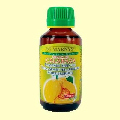 Aceite Alimentario de Pepita de Calabaza - 125 ml - Marnys