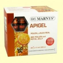 Apigel - Polen y Jalea Real - 20 ampollas - Marnys