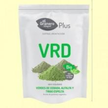 VRD - Verdes de Cebada, Alfalfa y Trigo de Espelta Bio - 200 gramos - El Granero
