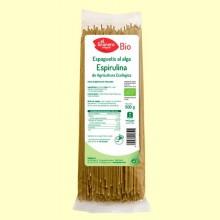 Espaguetis a la Espirulina Bio - 500 gramos - El Granero