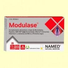 Modulase - Inflamaciones - 20 comprimidos - Laboratorio Cobas