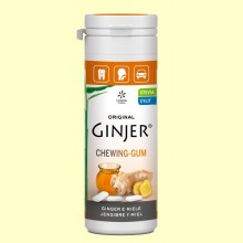 Chicles Ginjer Jengibre y Miel - 30 gramos - Lemon Pharma
