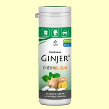 Chicles Ginjer Jengibre y Menta - 30 gramos - Lemon Pharma