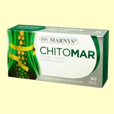 Chitomar Chitosán Vitamina C - 60 cápsulas - Marnys