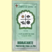 Hidratante de la piel para el Camino de Santiago