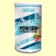 Fitmeal Powder Crema Verduras - 330 gramos - NutriSport