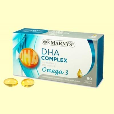 DHA Complex + Omega 3 - 60 perlas - Marnys