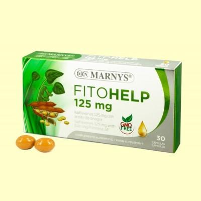 Fitohelp Isoflavonas - 30 cápsulas - Marnys