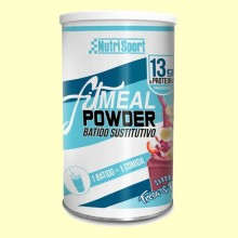 Fitmeal Powder Fresa y Plátano - 300 gramos - NutriSport