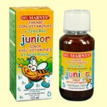 Jarabe Junior Multivitamínico con Jalea Real - 125 ml - Marnys