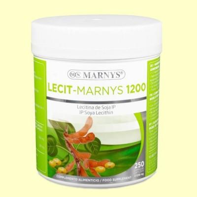Lecit-Marnys Lecitina de Soja - 250 cápsulas - Marnys