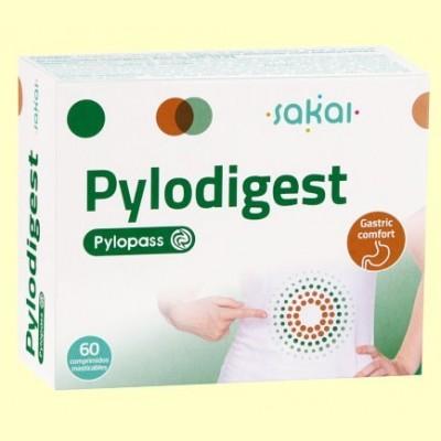 Pylodigest - Alivio de la acidez - 60 comprimidos masticables - Sakai