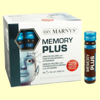 Memory Plus - 20 viales - Marnys