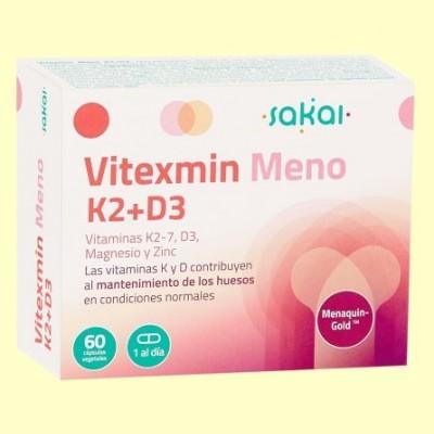 Vitexmin Meno K2+D3 - 60 cápsulas - Sakai