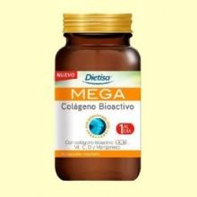 Mega Colágeno Bioactivo - 30 cápsulas - Dietisa