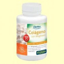 Colágeno con Magnesio - 180 comprimidos - Dietisa