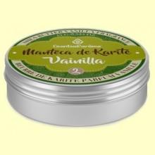 Manteca de Karité 2 Vainilla - 15 gramos - Esential Aroms