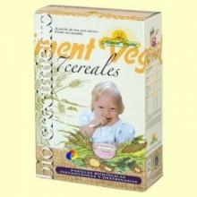 Papilla de 7 cereales con miel Bio - 400 gramos - Biocrecimiento
