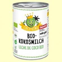 Leche de Coco Bio Coco King - 400 ml * - Dr Goerg *
