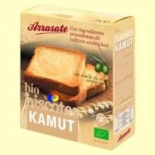Biscotes Kamut Bio - 270 gramos * - Arrasate