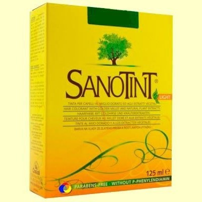 Tinte Sanotint Light - 125 ml - Castaño Dorado 75