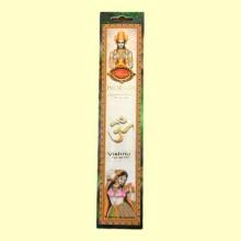 Incienso Vishnu Flor de Loto - 16 barras - Flaires