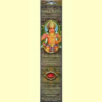 Incienso Hanuman Sougandhika - 16 barras - Flaires